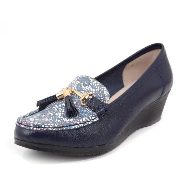 Zapato en cuero