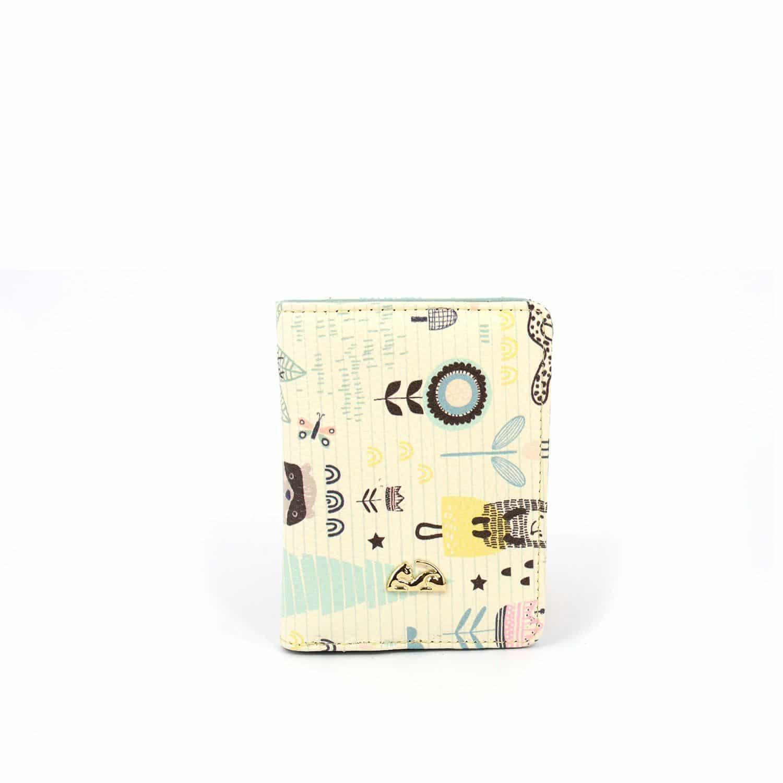 Billetera en cuero para mujer