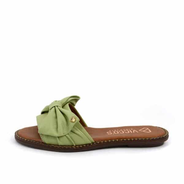 Sandalia en cuero